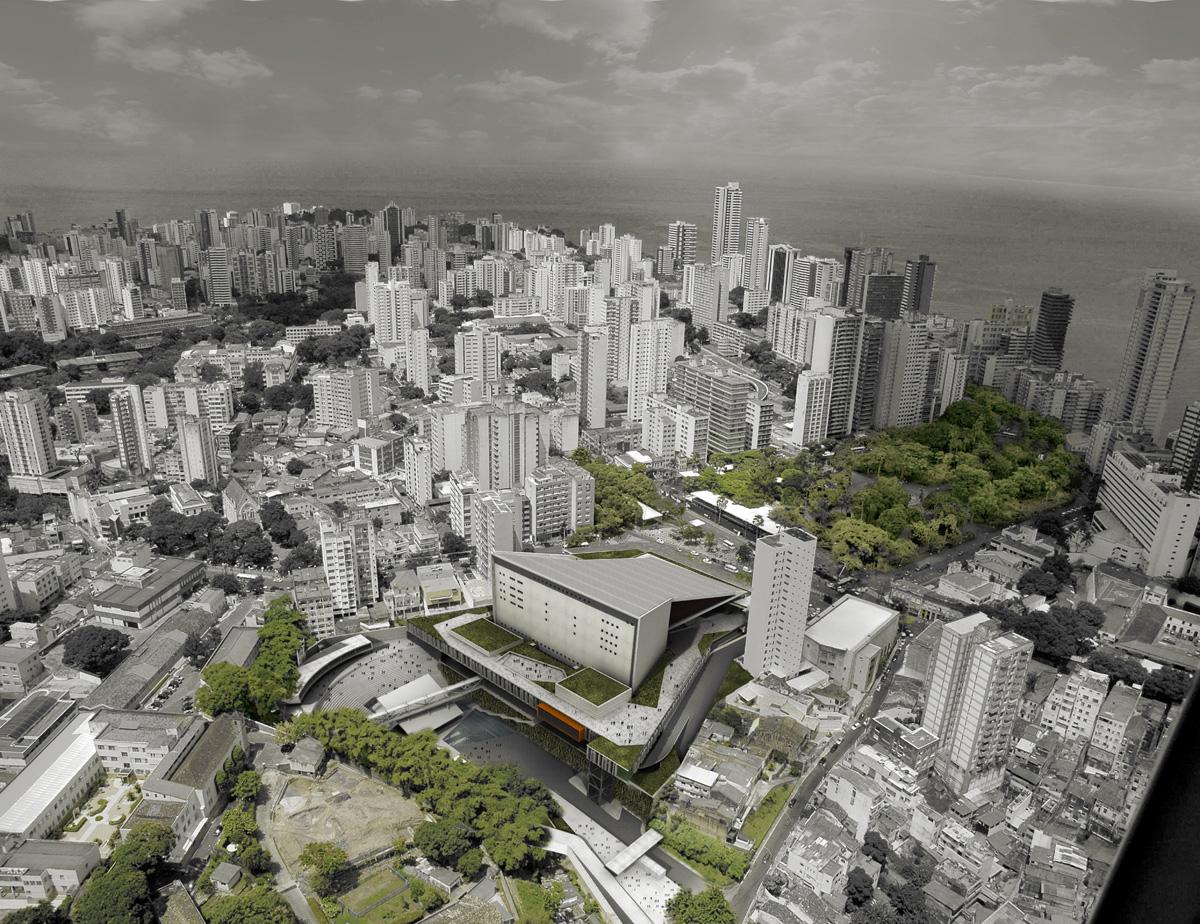 Novo Teatro Castro Alves Slide 01