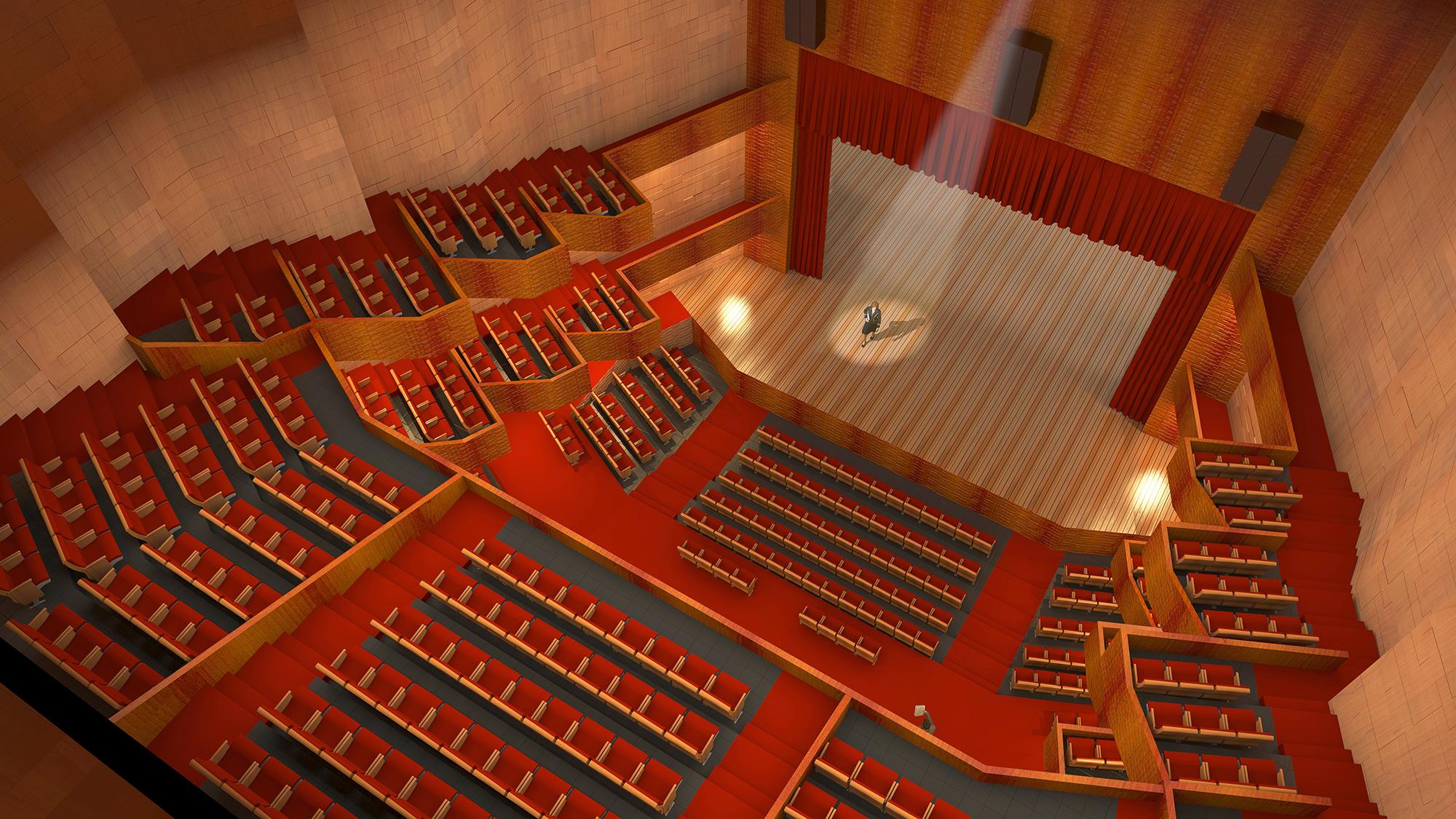 Teatro Municipal de Louveira Slide 05